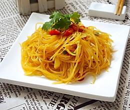 夏日家常菜:凉拌酸辣土豆丝的做法