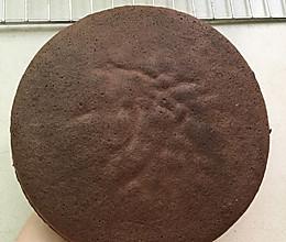 可可蛋糕6寸(慕斯蛋糕底)的做法