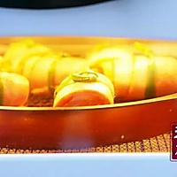 小羽私厨之培根三文鱼卷的做法图解5