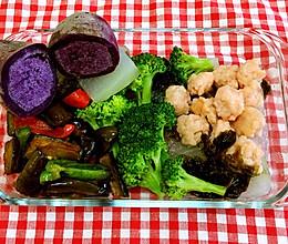 今日健身餐  冬瓜紫菜虾滑的做法