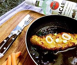 快手黄油照烧比目鱼的做法