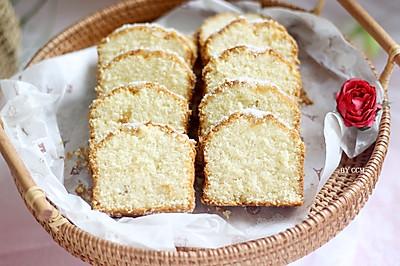 鳳梨椰絲磅蛋糕,非常值得一試的配方!