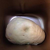 冷藏中种北海道吐司~面包机揉面的做法图解2