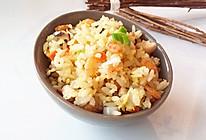 时蔬海米炒饭的做法