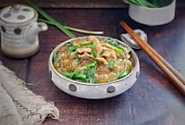 韭菜炒粉条的做法