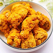 #精品菜谱挑战赛#不放一滴油的黄金炸鸡腿