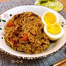 肉丁土豆焖饭