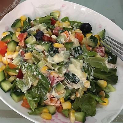 玉米生菜沙拉