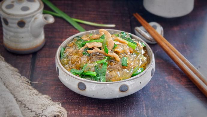 韭菜炒粉条