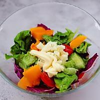 #精品菜谱挑战赛#蒜香沙拉时蔬水果的做法图解13