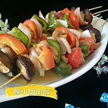 烤鸡肉串#嘉宝笑容厨房#