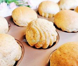 【酱】黑麦蓝莓酱贝壳面包