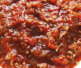 秘制美味意式番茄肉酱的做法
