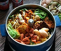 自己在家吃火锅,做法简单的—番茄火锅汤底的做法