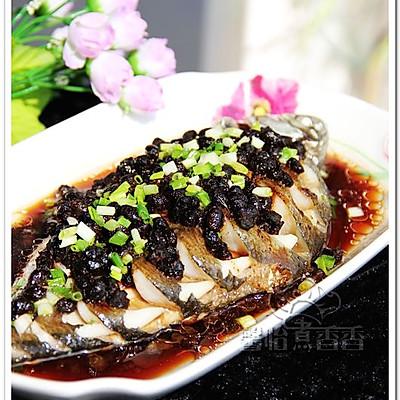豉香十足的豆豉蒸鱼