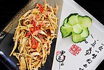 笋丝小炒肉+#我要上首页,夏日清爽家常菜#的做法