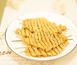 五香豆腐串的做法