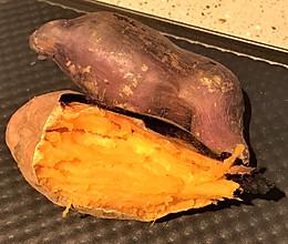 三层层层分离的烤地瓜的做法