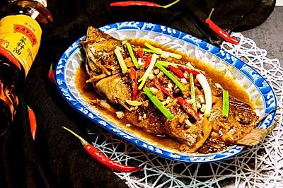 红烧臭鳜鱼#金龙鱼外婆乡小榨菜籽油,我要上春碗#