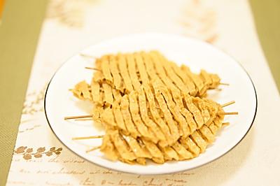五香豆腐串