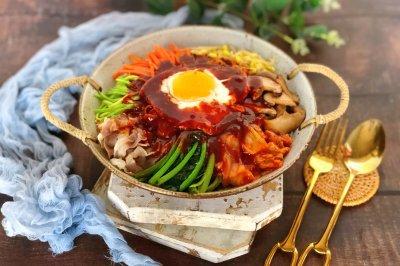 自制零难度的 韩式拌饭~分分钟光盘