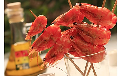 酥炸大虾的做法
