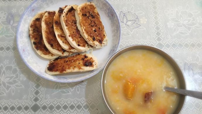超级美味早餐——蒜蓉烤馍片