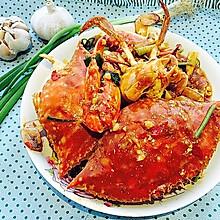 香辣酱炒螃蟹(超详细步骤)