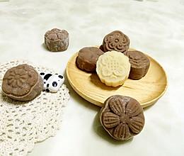 巧克力流心冰皮月饼的做法