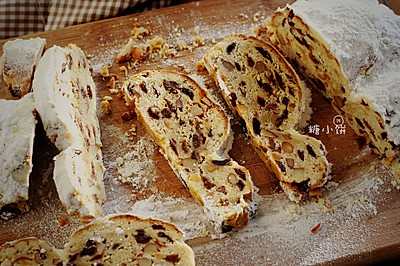 传统配方【史多伦】德国圣诞面包