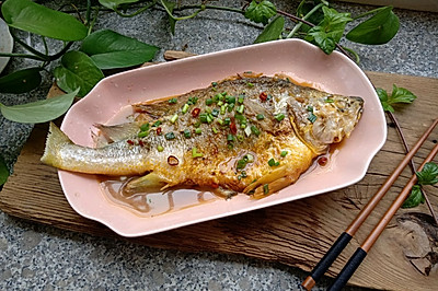 #父亲节,给老爸做道菜#红烧黄花鱼