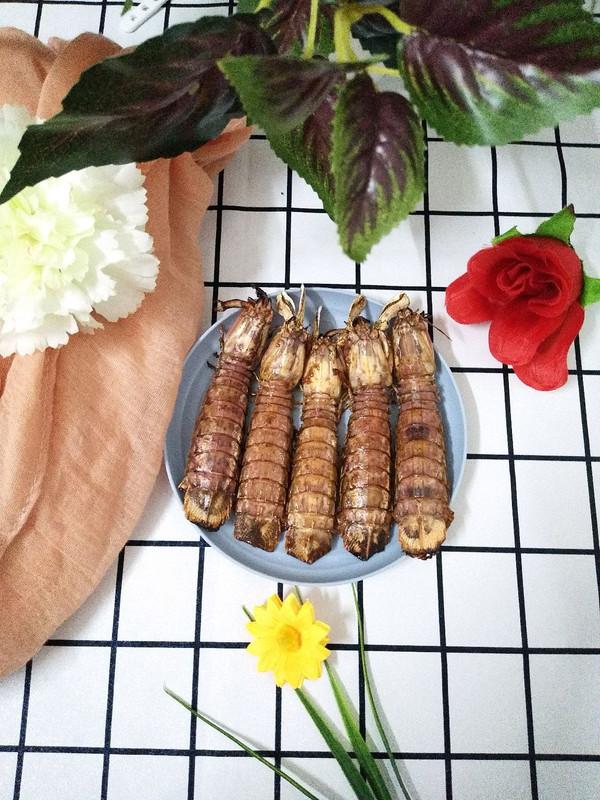 烤皮皮虾的做法