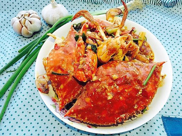 香辣酱炒螃蟹(超详细步骤)的做法