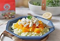 香橙奶酪佐菜花米的做法