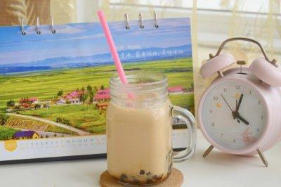 自制下午茶:珍珠奶茶