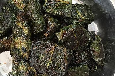 香煎假蒌包牛肉