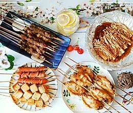 秘制烧烤(含烧烤撒料,刷酱,腌肉料),食材自由的完美大餐!的做法