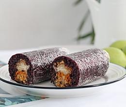 #餐桌上的春日限定# 紫米饭团的做法