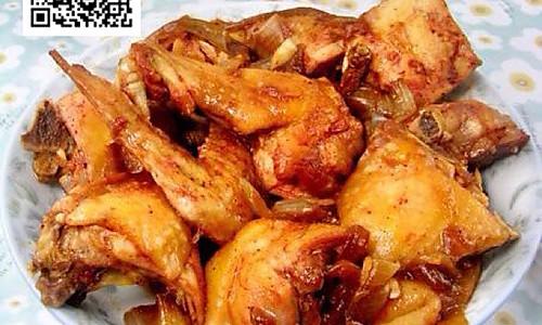 电饭锅洋葱焖鸡的做法