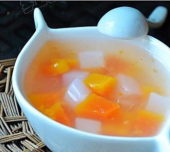 芦荟木瓜汤的做法