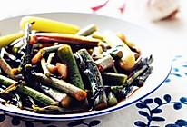 糖醋红菜苔#今天吃什么#的做法