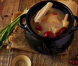 暖胃轻酸萝卜老鸭汤的做法