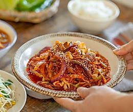 辣炒薄片五花肉|新鲜脆爽的做法