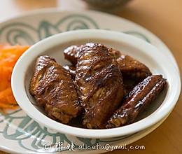 误打误撞的超级美味----黑胡椒风味鸡翅的做法