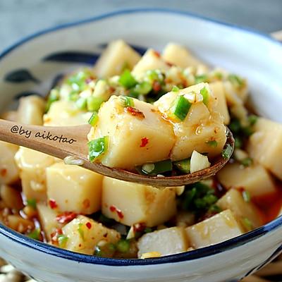 凉拌米豆腐