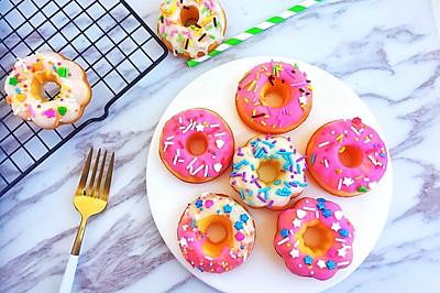#童年不同样,美食有花样#缤纷甜甜圈