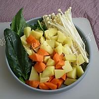 蔬菜浓汤的做法图解2