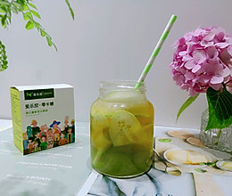#爱乐甜夏日轻脂甜蜜#低糖茉莉绿提黄瓜绿茶的做法