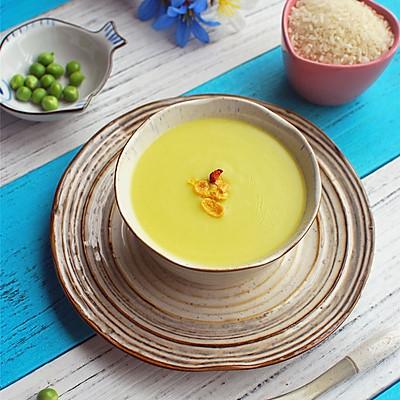 补蛋白质,补维生素【蛋黄豌豆米糊】