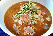 番茄牛腩土豆汤的做法